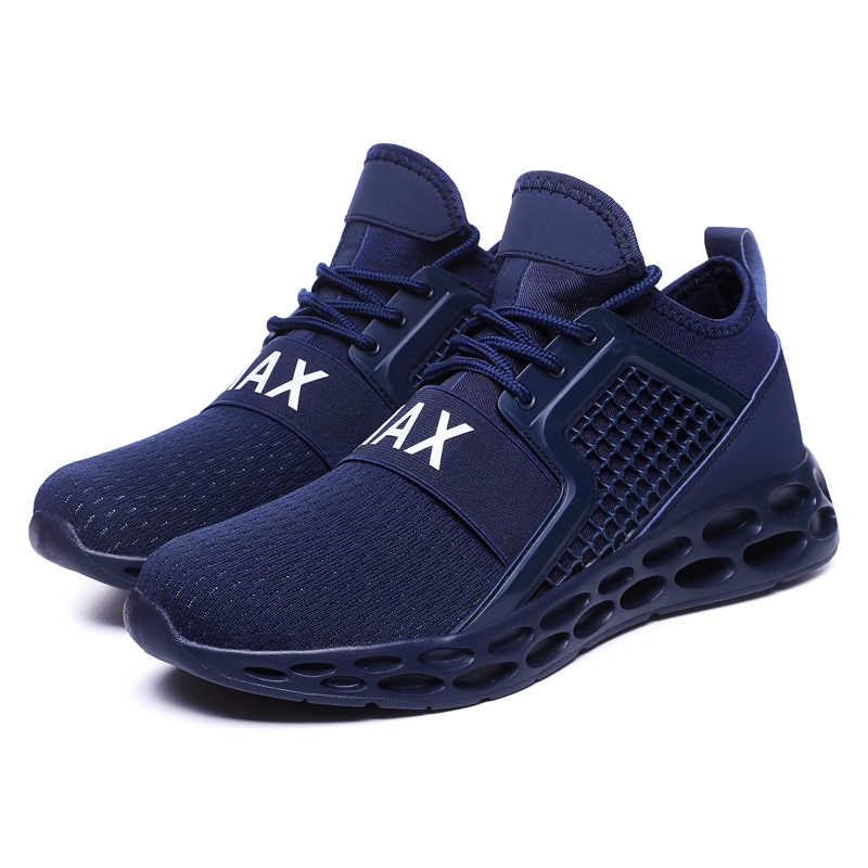 80f0cca69 ... Cushioning Men Breathable Running Shoes New Style Black Sport Shoes for  Man Mesh Sneakers Red Athletic ...