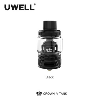 Uwell Crown IV Crown 4 Tank With Dual SS904L Coil & self-cleaning technology 2ml /6ml Subtank Atomizer E-cigarette Vaporizer