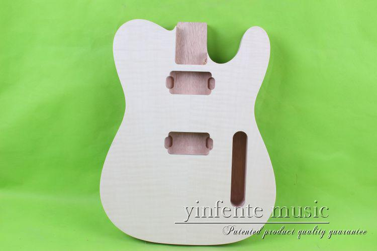 neck fingerboard ebony  mahgang made   body mahogany wood made   maple  one set   Unfinished electric guitar proac response d one ebony