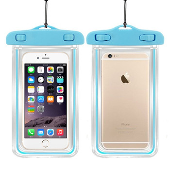 6 inch Summer Diving Bag Waterproof Pouch Swimming Beach Skiing Dry Bag Case Water Sports Bags Cover Holder for Phone Wallet 3