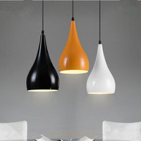 Modern Pendant lamp LED indoor light colorful gourd chandelier ceiling lighting Hanging restaurant coffee shop bar light fixture