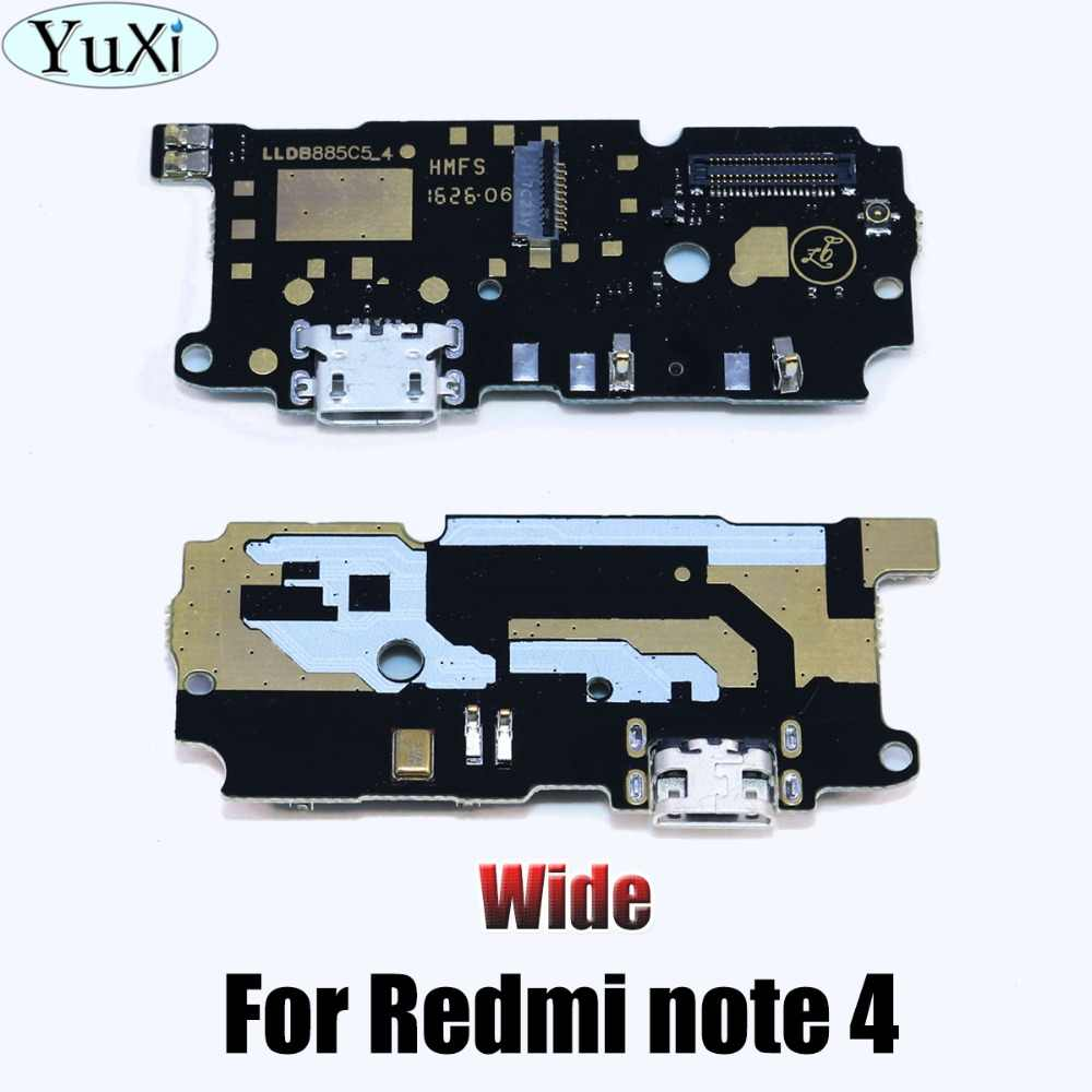 YuXi Dock Connector Micro USB ชาร์จพอร์ต Flex สายริบบิ้นสำหรับ xiaomi สำหรับ redmi Note 2 3 4X 5A สำหรับ redmi 1 วินาที 2 3 4 4A
