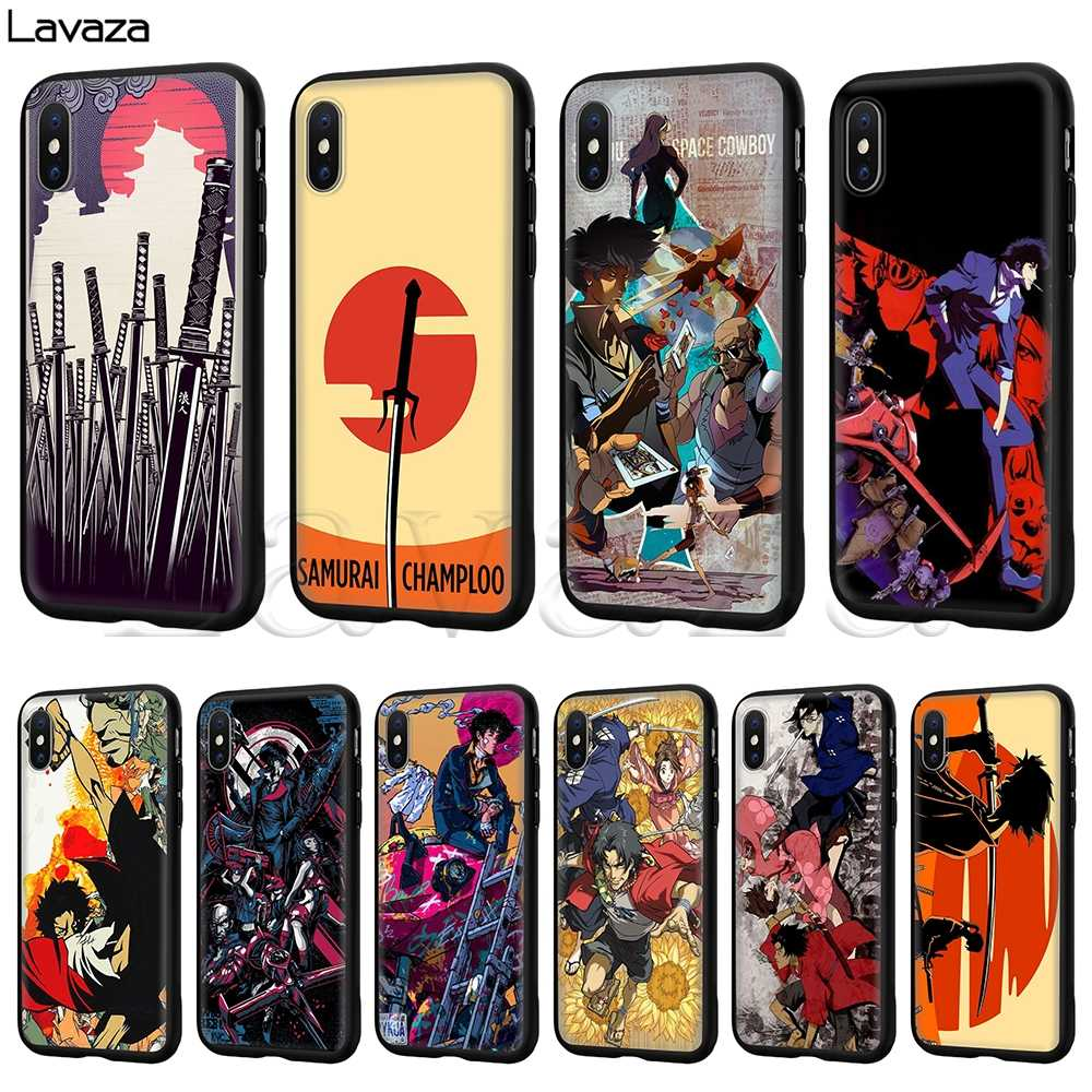 Lavaza Samurai Champloo Silicone Soft Case voor iPhone 11 Pro XS Max XR X 8 7 6 6S Plus 5 5S SE
