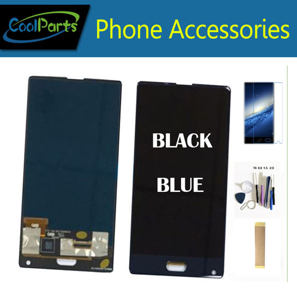 Original Quality <font><b>5.5</b></font> Inch For <font><b>Doogee</b></font> <font><b>Mix</b></font> LCD <font><b>Display</b></font> Screen +Touch Screen Assembly Blue Black Color With Kit image