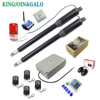 Free shipping 24V DC Basic Kit Dual Heavy Duty Metal Swing Gate Opener/Automatic Door Operators For Access control with remote