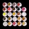24 unids Hoja de Brillo Sombra de Ojos En Polvo de Color de La Mezcla de Sombra de Ojos Maquillaje Set #11