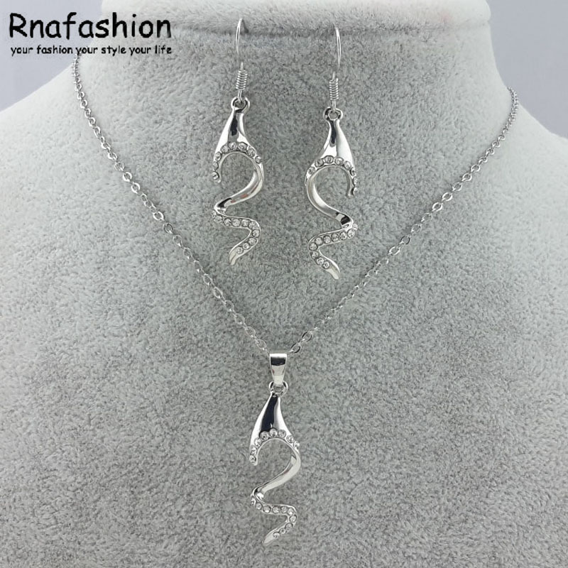 Fashion Jewelry Woman Accessories austria crystal accessories set 098