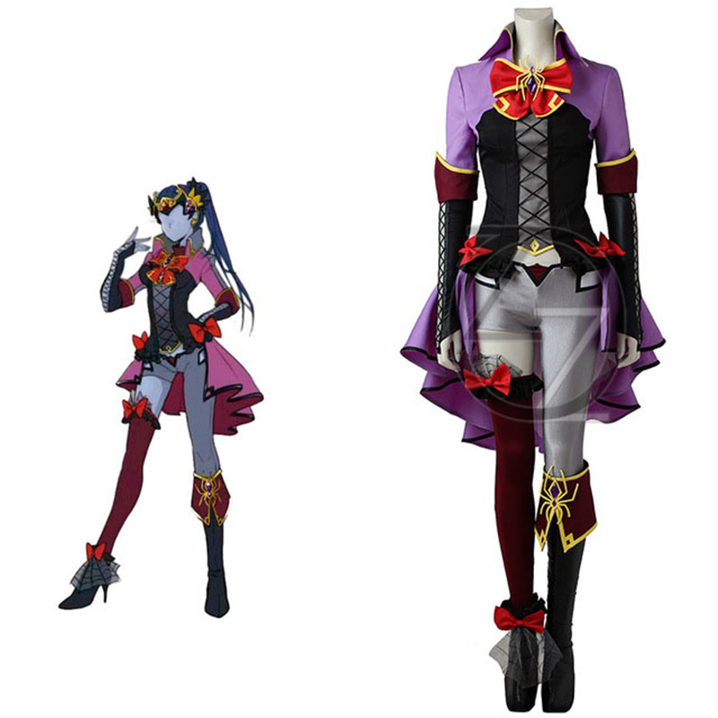 Widowmaker Amelie Lacroix Cosplay Costume Anime Dress Game ...