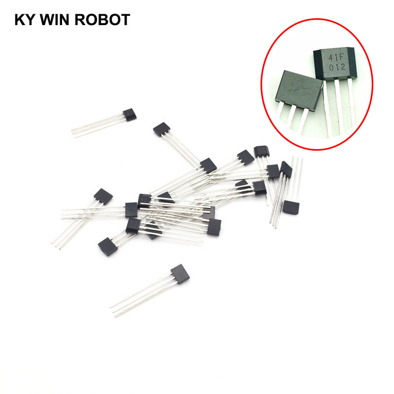 10PCS <font><b>SS41</b></font> SS41F TO3 SENSOR SS HALL EFFECT BIPOLAR NEW GOOD QUALITY image