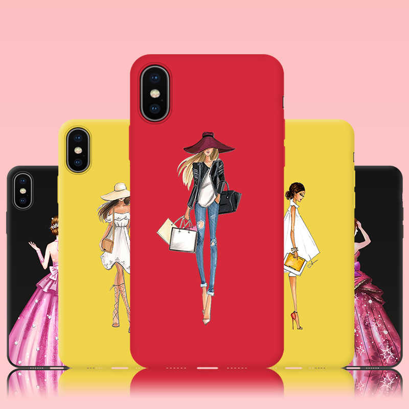 Detail Feedback Questions about JURCHEN Phone Case For iPhone7 7Plus Case  Soft Tpu For iPhone 6 S 6S 7 8 X XR XS Max Plus Silicone Cover For iPhone8  8Plus ... 7c6f040bf3d9a