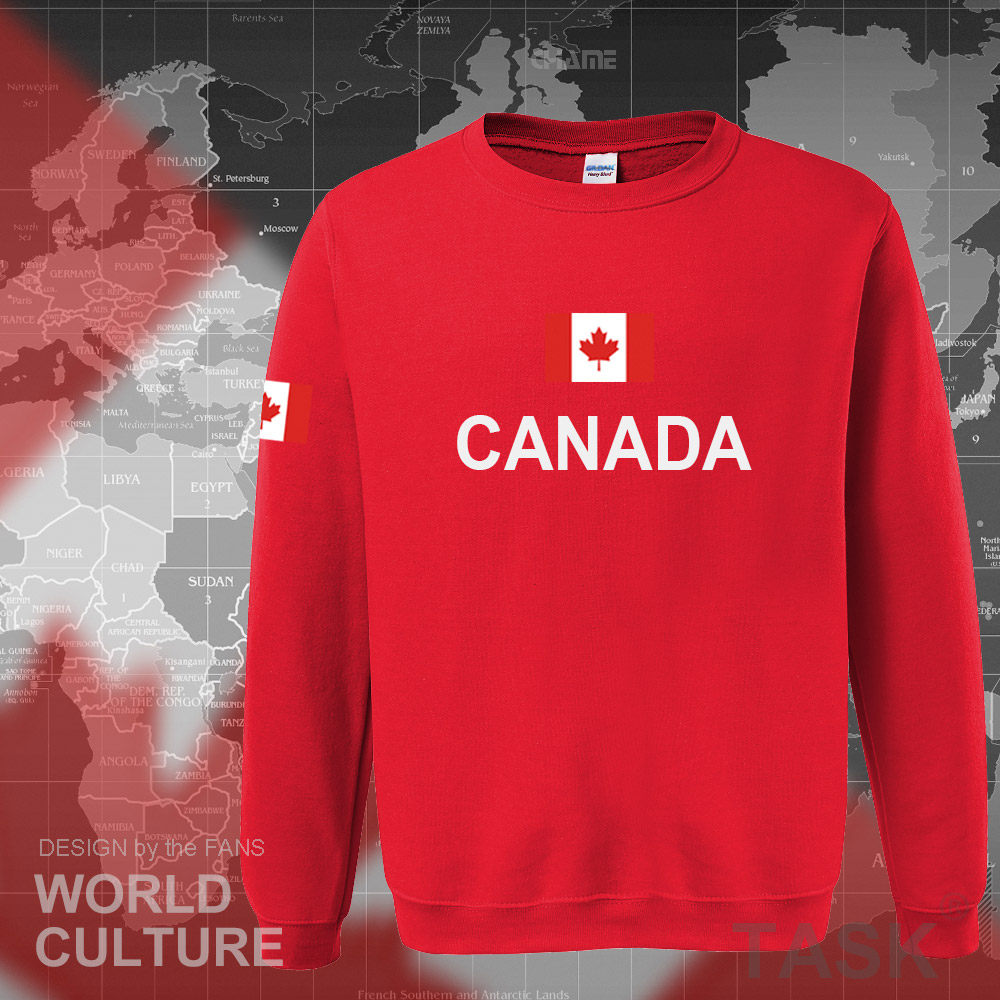 Canada 17 hoodies men sweatshirt sweat new streetwear clothing jerseys footballer tracksuit nation Canadians flag fleece CA 4