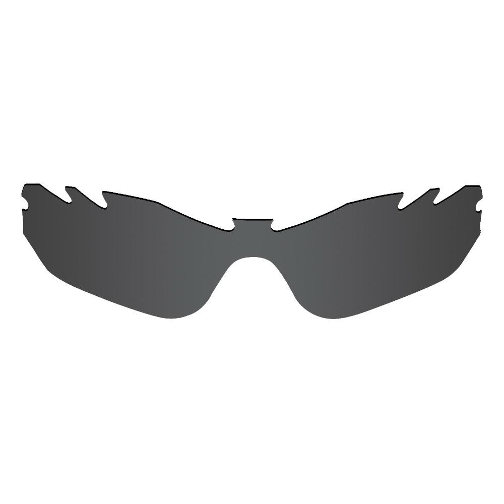 2 шт. mryok Замена Оптические стёкла для Oakley Radar края вентилируемый Солнцезащитные очки для женщин объектив Стелс черный и HD Clear