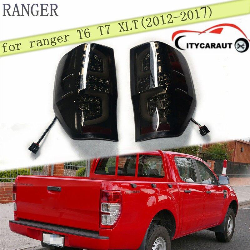 2012-2017 rear LIGHTS led rear lamp for 2012-2017 ranger t6 t7 xlt citycarauto RANGER tail lights