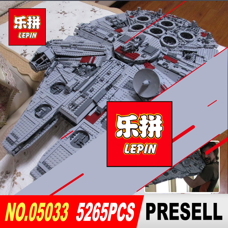 LEPIN 05033 05028 Star Series Wars Ultimate Collector's Model Super Star Destroyer Building Blocks Bricks Toy legoed 10179 05028 star wars execytor super star destroyer model building kit mini block brick toy gift compatible 75055 tos lepin