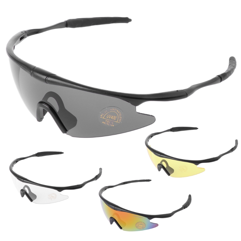 Men Women Riding Goggles Tactical Glasses Hunting Military Sport UV400 Sunglasses