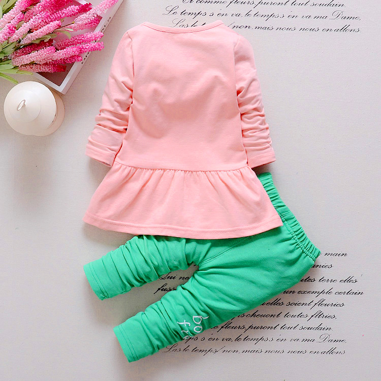 BibiCola-Kids-Spring-new-Korean-wave-point-clothing-set-baby-girls-cute-cotton-clothes-suit-childern-cartoon-3pcs-suit-5