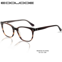 Acetate Glasses Frame Gregory Peck Retro Eyeglasses For Men and Women Vintage Optical Eyewear Frames Myopia Lens