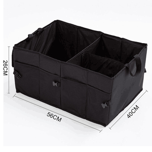 Image 2 - O SHI CAR Collapsible Trunk Cargo Organizer Best for SUV/Vans/Cars/Trucks.Premium Car Fold Storage Container car Separation box
