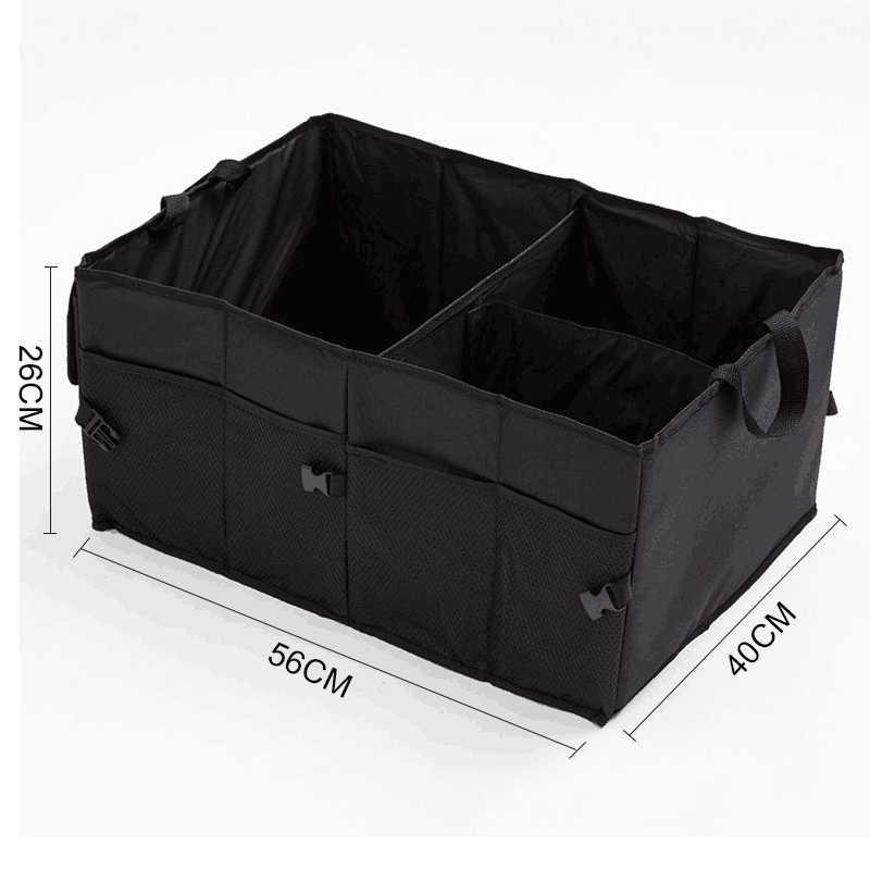 O SHI Автомобильный складной багажник вместительный Органайзер лучший для внедорожников/фургонов/автомобилей/грузовиков. Премиум автомобиль складной контейнер для хранения автомобиля разделительная коробка