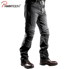 Hohe qualität mann motorrad jeans reiten schutz elastische motocross hosen pantalon moto männer bequeme hose