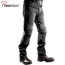 Высокое Качество Человек Джинсы Мотоцикл Езда Защитные Эластичный Moto Мотокросс Брюки Pantalon Мужчины Удобные Брюки(China (Mainland))