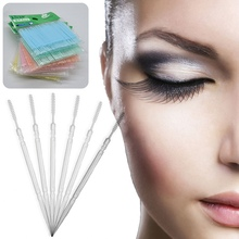100Pcs Double Head Interdental Brush Toothpick