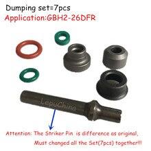 Alta calidad el conjunto de vertido reemplazo para BOSCH GBH2 26DFR GBH 2 26DFR Striker Pin, anillo Thrhst