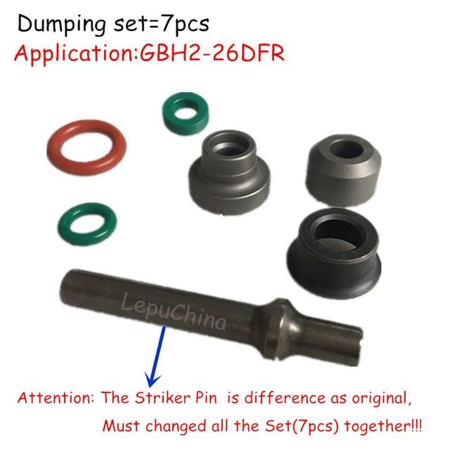 Di alta qualità il Dumping set di ricambio per BOSCH GBH GBH2 26DFR 2 26DFR Attacco Pin, Thrhst Anello