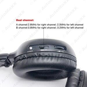 FEELDO 1 шт. Автомобильный DVD стерео 2 Двухканальный аудио ИК инфракрасный беспроводной музыкальный складной наушник наушники # AM2447