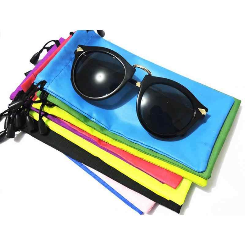 10 PCS מיקרופייבר משקפי שמש תיק הגאדג 'טים שרוך ניקוי ואחסון פאוץ יתאים מגוון של גאדג' טים משקפי שמש שעונים