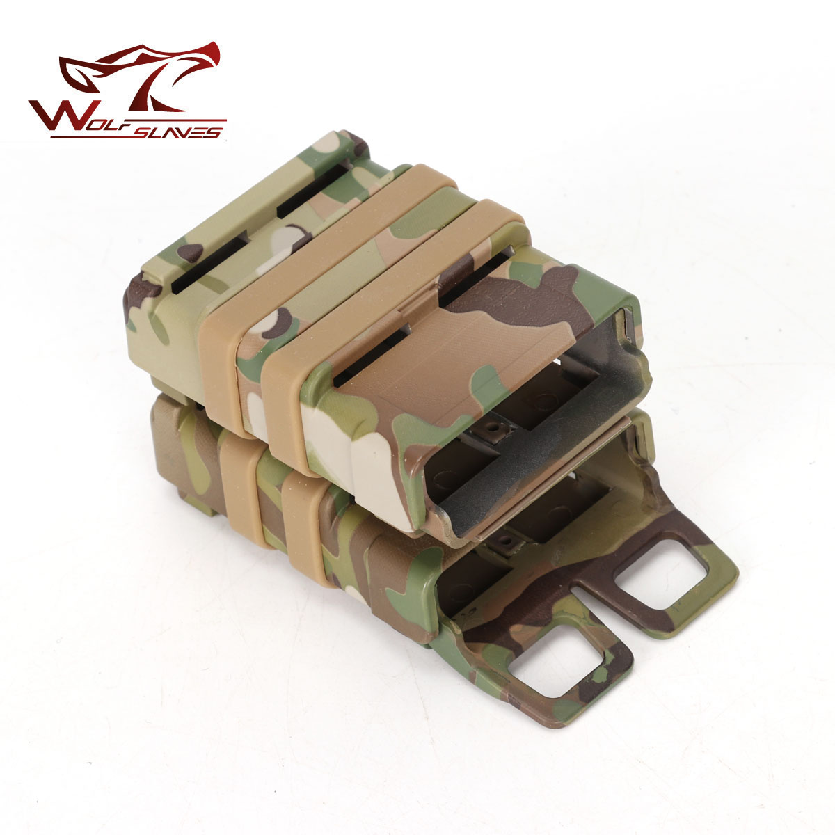 US $10 48 22% OFF|Outdoor AEG Box Tactical Rifle Gun 5 56 Fast Mag Double  Magazine Pouch Molle Strike System Case for M4/M16/AR15 Accessories-in