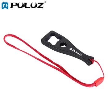 PULUZ plastikowy klucz klucz + smycz dla GoPro kamery sportowe tanie i dobre opinie Akcesoria Zestaw Zestaw PU122