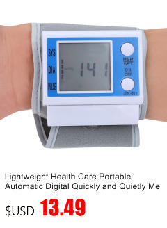 Gustala Automatic Digital Sphygmomanometer Wrist Cuff Arm Blood Pressure Monitor Meter Gauge Measure Portable Bracelet Device 9