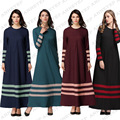 Мусульманин платье абая для женщин Исламского платья дубай кафтан Исламская одежда Мусульманская абая Платье турецкий джилбаба хиджаб 059