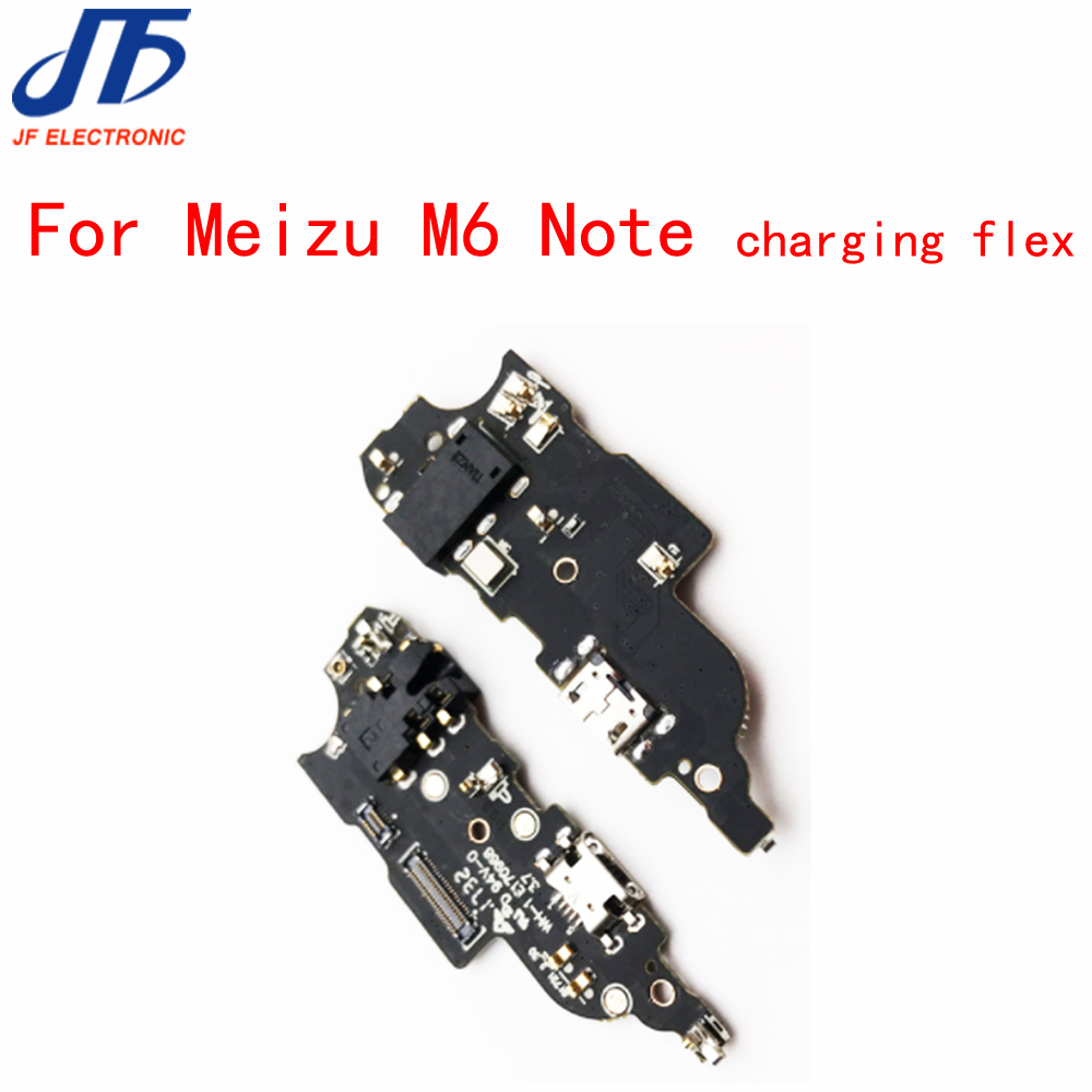 5pcs/lot For Mei zu M6 Note USB Charging Port Board Flex Cable Dock Connector + Microphone + Headphone Jack Audio Earphone