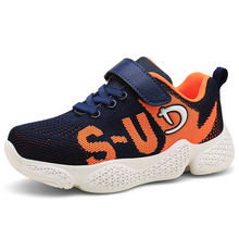 SKHEK Kids Shoes Children Sneakers Child Sneakers 2019 Spring Autumn Boys Sports Running Shoes Boys Girls Black Red Mesh Shoes