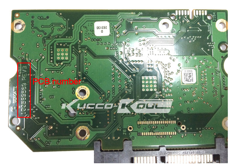 hard drive parts PCB logic board printed circuit board 100589569 for Seagate 3.5 SATA hdd data recovery hard drive repair