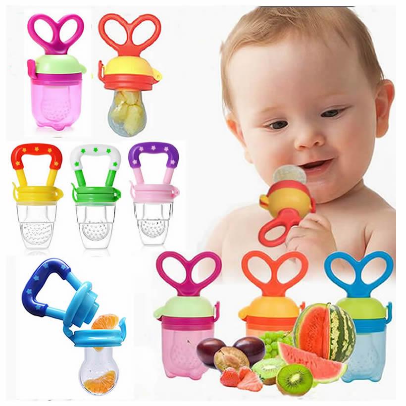 NEW Feeding Nipple Feeder Fresh Food Bit Bites Teethers Nibbler Food Feeding Tool Safe Baby Teethers Mamadeira 3size