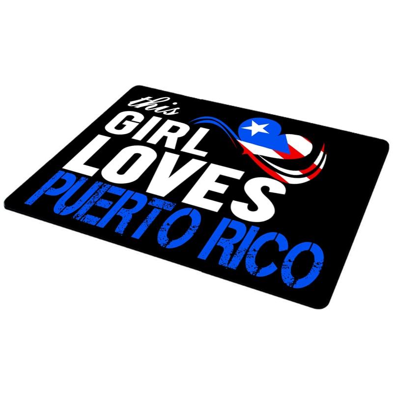 MaiYaCa Hot Sale This Girls Love Puerto Rico Anti-Slip Laptop Mice Pad Mat Drop Shipping