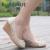 Otoño de las mujeres cuñas de cuero genuino zapatos de tacón alto de moda casual zapatos de cuero cómodos zapatos femeninos zapatos de un solo corte
