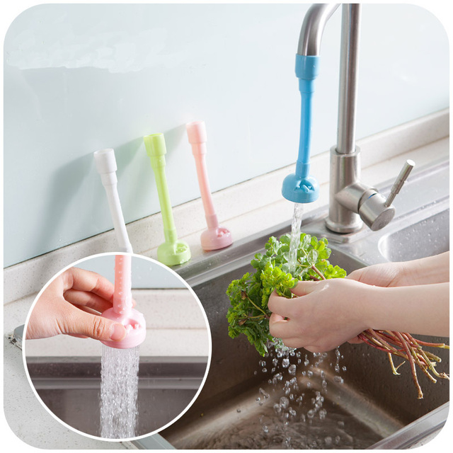 Kitchen Faucet Accessories Water Saving Bathroom Basin Flexible Sink ...