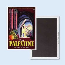 Visit Palestine The Land of the Bible Loeb 24100 Retro nostalgia fridge magnets michael russell palestine or the holy land