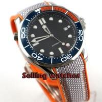 Luxury 41mm men's watch navy Black sterile dial super luminous saphire glass Ceramic Bezel Automatic movement wrist watch men