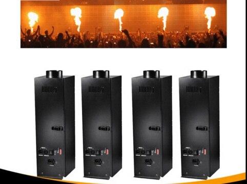 (4 peças/lote) máquina de Fogo DMX palco DJ PARA O STUDIO club party stage KTV bar dança teatro liminaires ciclorama illuminacion