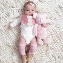 BalleenShiny Cotton Baby Socks Animal Printed Knee High Kids Boy Girl Socks Anti Slip Cartoon Cat Leg Warmers 0-4Y