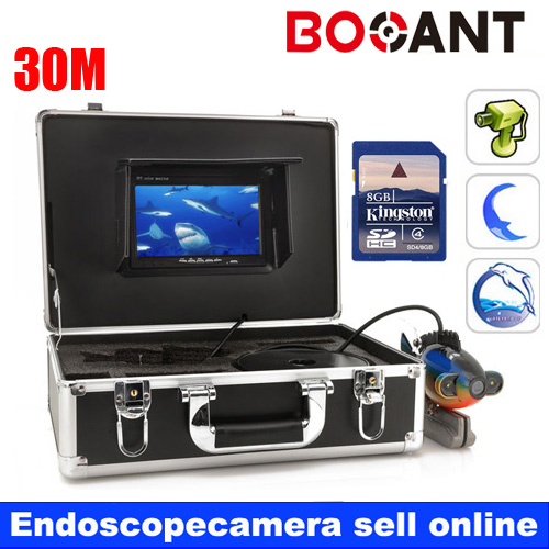 30M Underwater Fishing DVR Camera Kit Control Box With Video function 7 TFT Color Fish Finder30M Underwater Fishing DVR Camera Kit Control Box With Video function 7 TFT Color Fish Finder