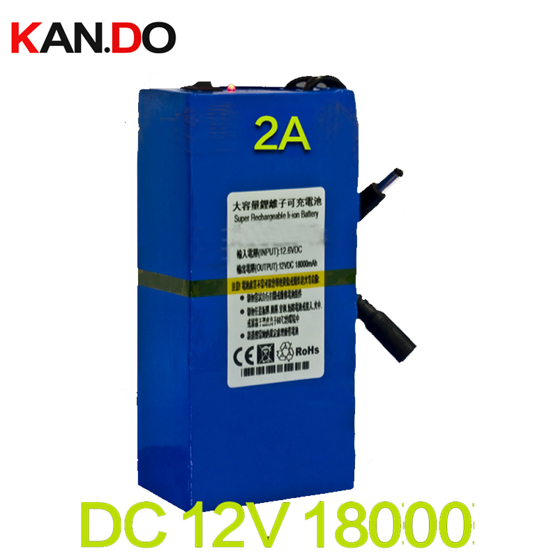 1.1kg/pcs capacity 18000 Mah CE ROHS 1A charger DC 12V lithium battery pack,polymer lithium battery pack polymer li-ion battery 16 8v 20a lithium battery charger used for 4s 14 4v 14 8v li ion battery pack with ce rohs certification