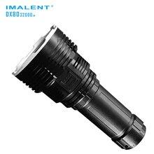 Linterna de búsqueda IMALENT DX80 8 * CREE XHP70 LED max 32000 lumen alto haz de luz distancia 806 metros con batería recargable