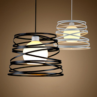 Nordic restaurant chandelier led creative personality office barber shop coffee shop simple modern single balcony light