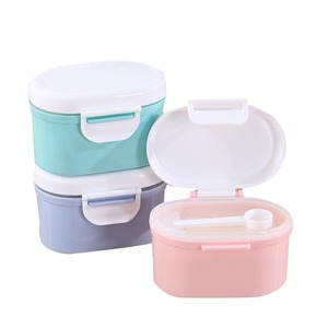 Baby Food Storage 1 pc Baby Milk powder Storage Formula Dispenser Travel canisters Container food Tank PP  Plastic single layer